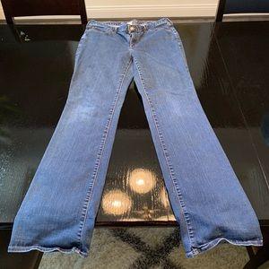 Eddie Bauer Curvy Bootcut Jeans Size 16 Long